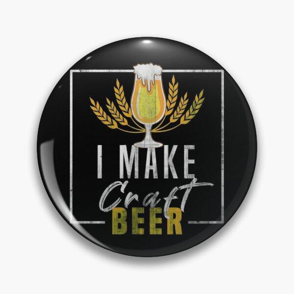 Pino feito sob encomenda da lapela do metal dos desenhos animados da cerveja do ofício, emblema dos pinos, pinos do saco, pinos do chapéu