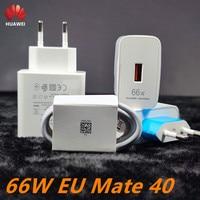 Зарядное устройство для Huawei mate 40 pro, зарядное устройство 66 Вт, USB Type-C, для Huawei Mate 40 Pro, mate30, 40, p40 pro, nova8, se, P30, оригинал