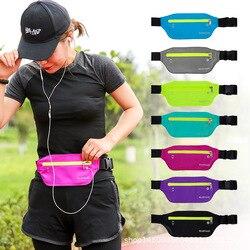 Moda de nova Invisível Esportes Ao Ar Livre Correndo Bolsos Bolso Do Telefone Celular À Prova D Água Ao Ar Livre Saco de Homens e Mulheres Cinto Invisível