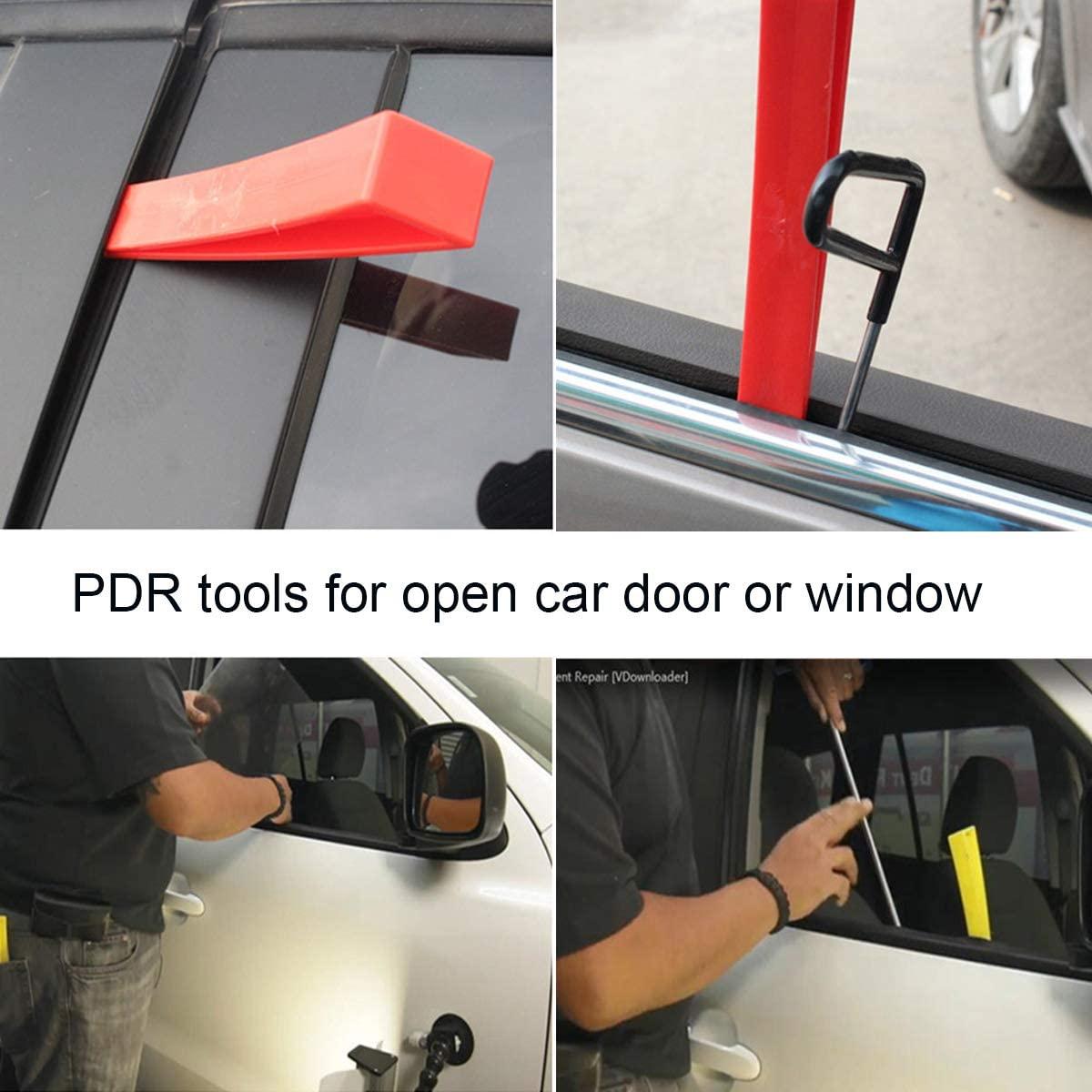 Curved Window Wedge Paintless Dent Repair Tools Door Wedge Tool for Repair Auto Car Body DIY Hand Tools  - buy with discount