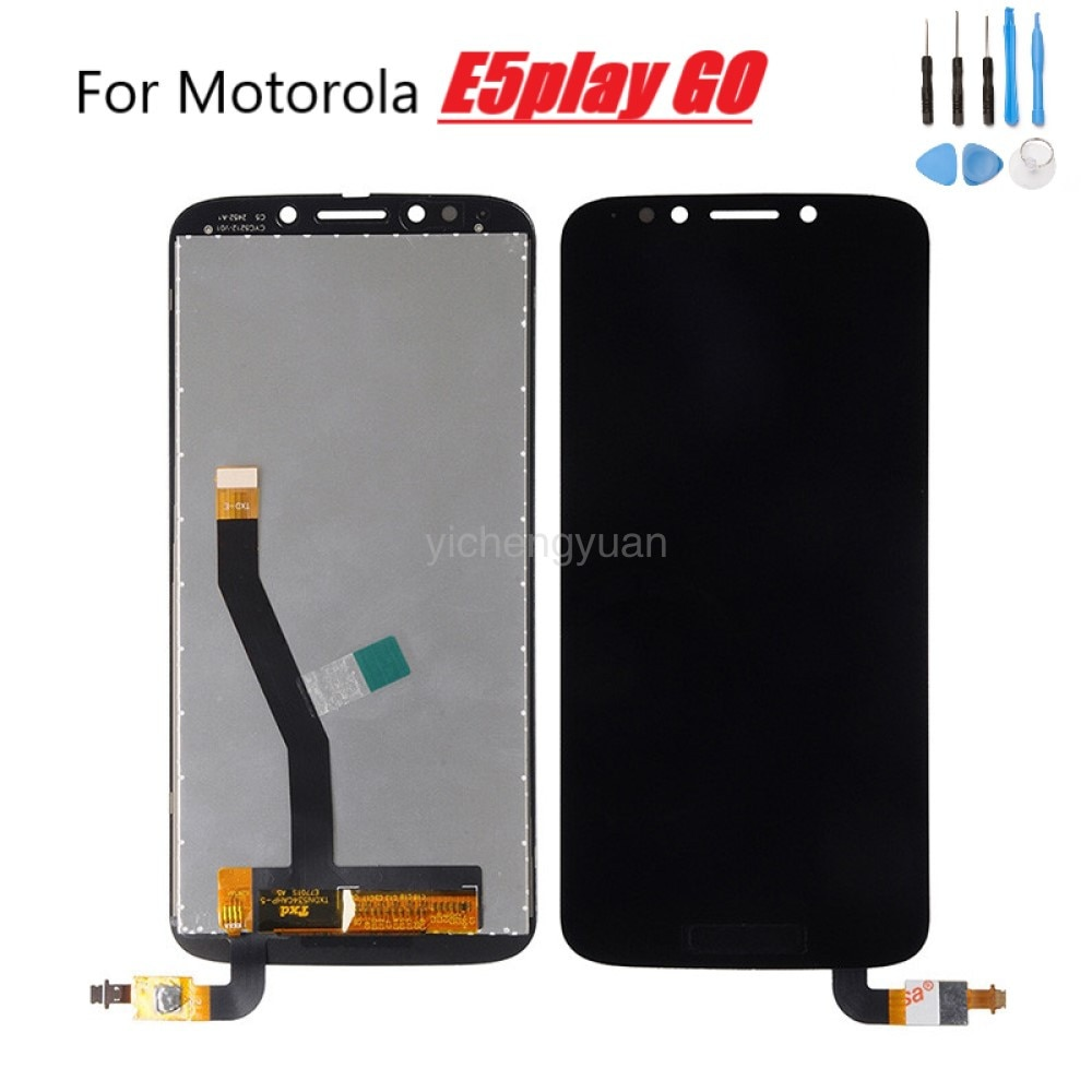 100% Teste For Motorola Moto E5 Play Go LCD Display XT1920 Sensor Touch Panel Screen Assembly For MOTO E5 Play Go LCD Display