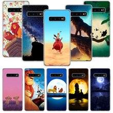 W Simba król lew etui do Samsung Galaxy A51 A71 A50S A10 A20E A30 A40 A70S A90 M30S A01 A21 A6 A7 A8 A9 Plus + telefon pokrywa