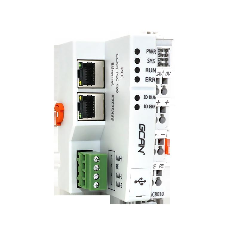 جديد الأصلي GCAN مايكرو PLC مع البرمجيات ، إيثرنت متصلة مع HMI لعملية الأتمتة الصناعية