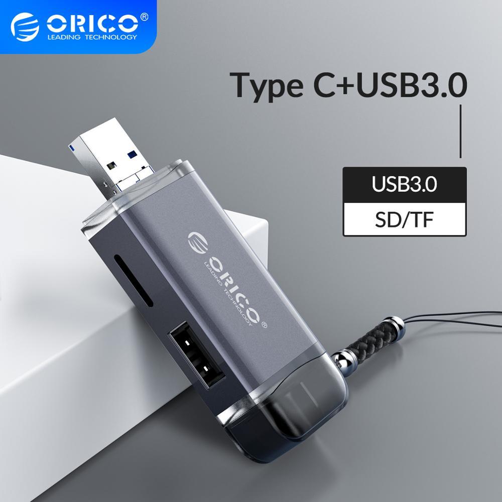 Multi 6 em 1 leitor de cartão usb 3.0 micro usb 2.0 tipo c para sd micro sd tf adaptador de memória inteligente sd otg cardreader para portátil