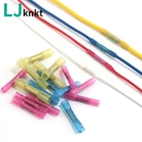 waterproof solder quick wire connectors heat shrinkable set insulated middle connection splice 102050100pcs crimp connector