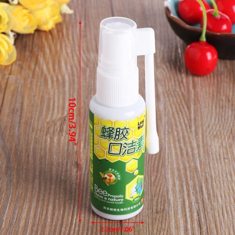 30ml Bacteriostático Cheiro Purificadores de Boca Limpa Higiene Bucal Spray Parar o Mau Hálito