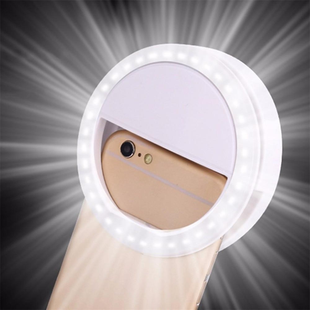 Fill Light Ring Light Mobile Phone Fill-in Light LED The Third Gear Selfie Fill Light Live USB Rechargeable