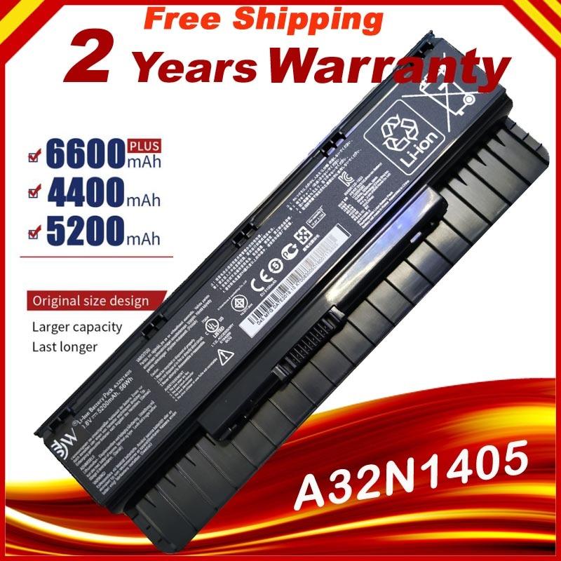 Новый ноутбук батарея A32N1405 для Asus G551 G551J G551JK G551JM батарея для ноутбука G771J G771JK N551J N551JW N551JM N551Z N551ZU