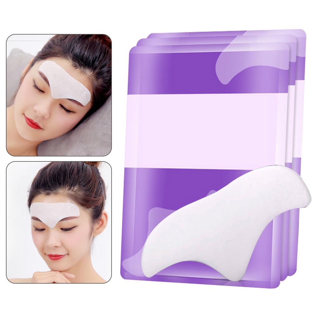 10 pçs linhas franzidas remoção acne anti rugas rosto remendo levantamento colágeno adesivos peeling hidratante cuidados com a pele testa máscara