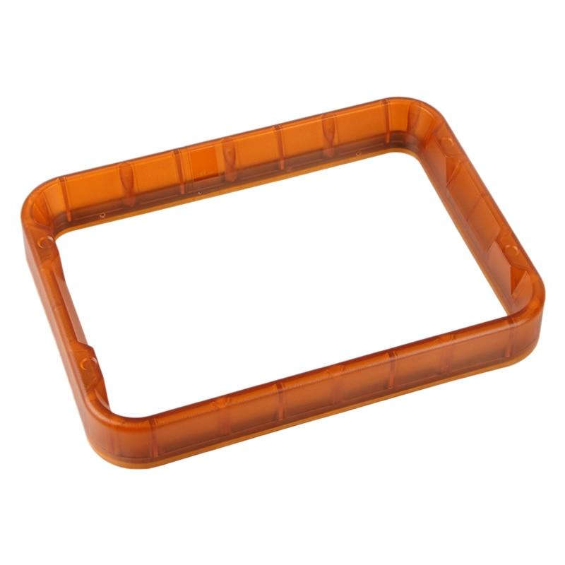 قطع غيار طابعة ثلاثية الأبعاد وانهاو الناسخ 8, قطع غيار ، خزان D8 راتينج ، وعاء بلاستيكي مع فيلم FEP
