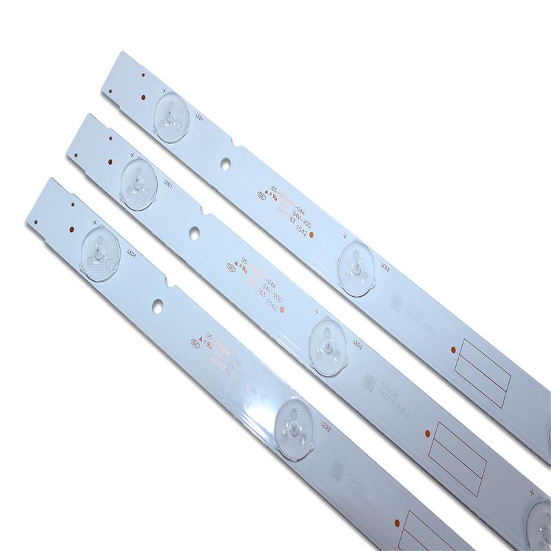 Nuevo 9 unids/set de retroiluminación LED 5800-W32001-3P00 05-20024A-04A para LC320DXJ-SFA2 32HX4003 7LED 607mm
