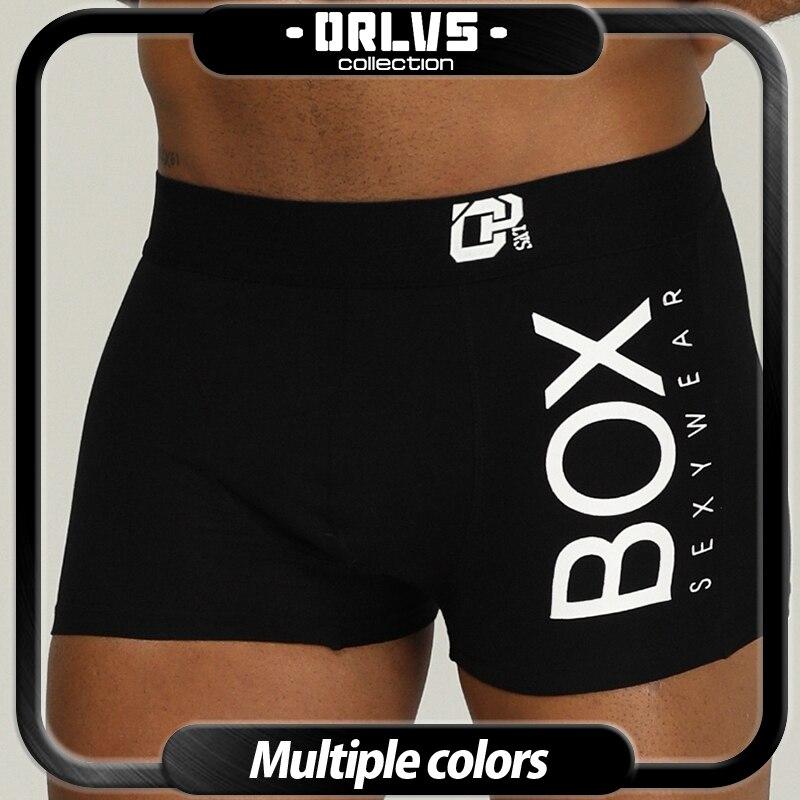 Calzoncillos marca ORLVS de algodón para hombre, calzoncillos de hombre, calzoncillos convexos para hombre, calzoncillos transpirables para hombre gay