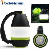 3In1 Notfall Licht Tragbare LED Camping Laterne USB Aufladbare Taschenlampe Laterne für Hurrikan Notfall, Wandern, Angeln
