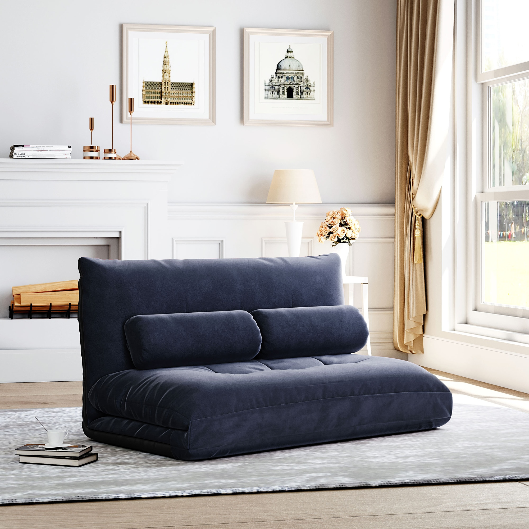 Диван-кровать раскладной диван-кровать для Гостиная Регулируемый софа мебель для спальни Прямая доставка современной гостиной диван с под...