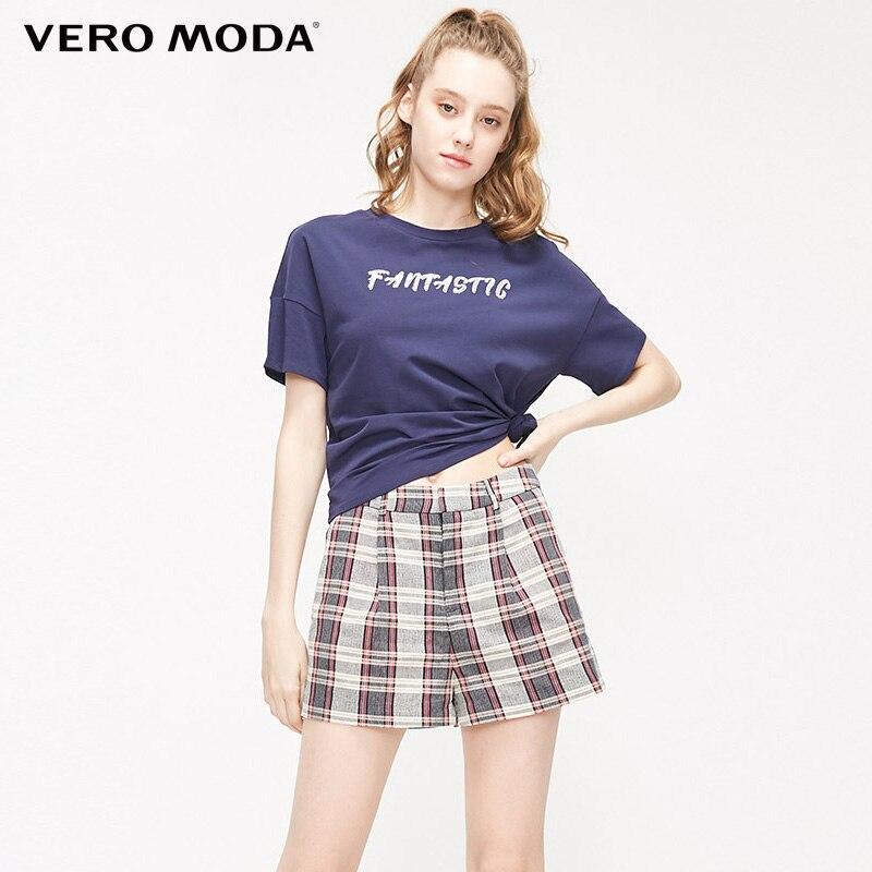 Женские клетчатые брюки для отдыха на весну и лето Vero moda | 319215521