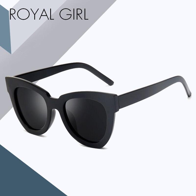Королевские классические женские солнцезащитные очки кошачий глаз, винтажные брендовые дизайнерские солнцезащитные очки, мужские квадрат...