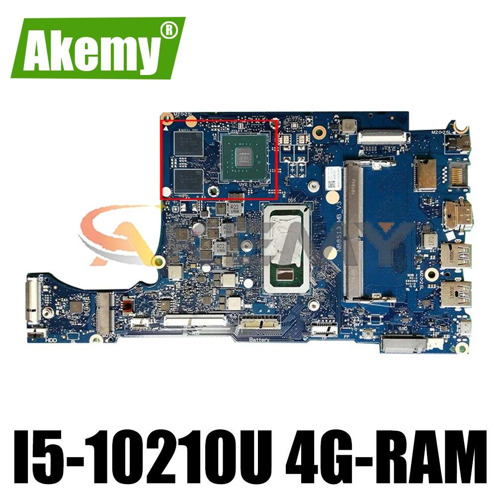 NB8513_MB_V3 لشركة أيسر أسباير A514 A514-52 A514-52G اللوحة المحمول مع I5-10210U 4G-RAM MX250 2G-GPU 100% العمل ملحوظة. HDX11.007