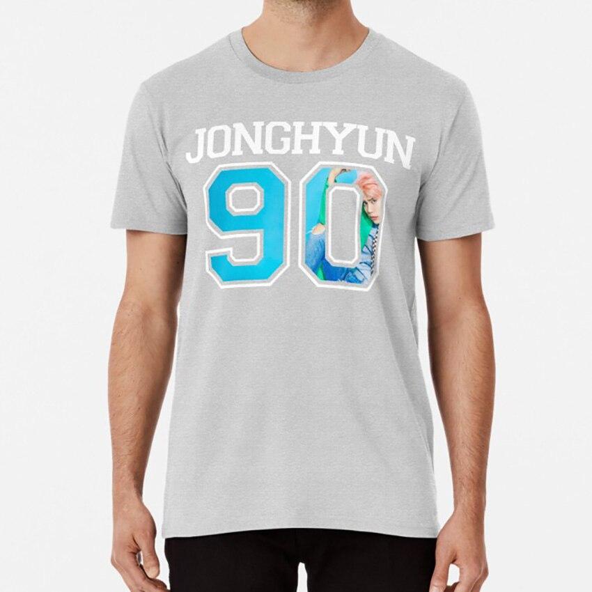 Shinee-Jonghyun. 90 T camisa Shinee Kpop Jersey camisa Kpop Shinee camisa Taemin clave Minho Jonghyun. Onew
