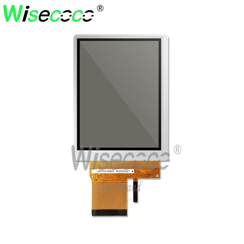 wisecoco  for handle pda 3.5 inch screen 240x320 50 pin lcd LQ035Q7DB05 brand new original standard display
