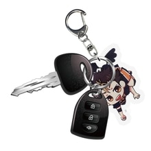 Porte-clés japonais Haikyuu porte-clés Haikyuu! Karasuno Nekoma Anime Karasuno lycée condamné bataille porte-clés en métal