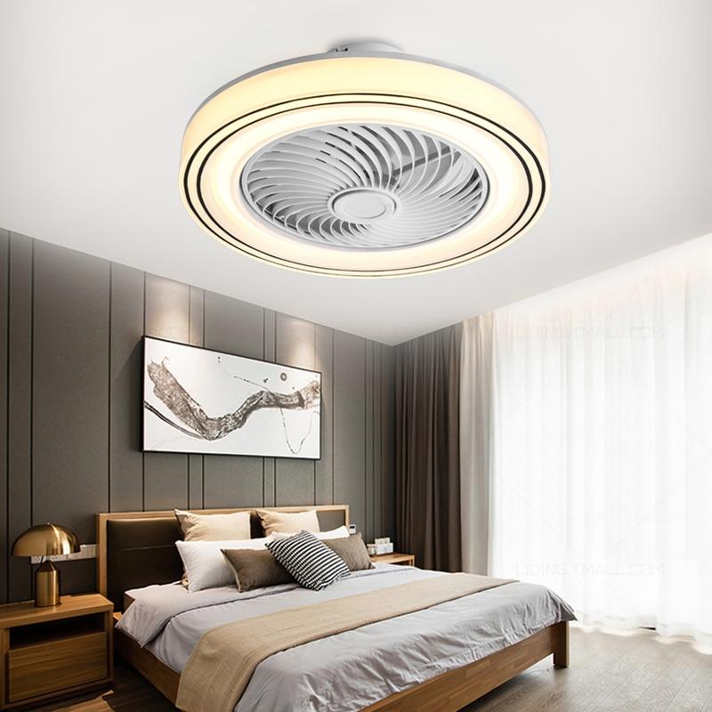 سقف ليد حديث مروحة الهاتف المحمول app110v 220 فولت نوم مصباح السقف غرفة المعيشة مروحة سقف تعمل بالتحكم عن بعد مصباح للزينة