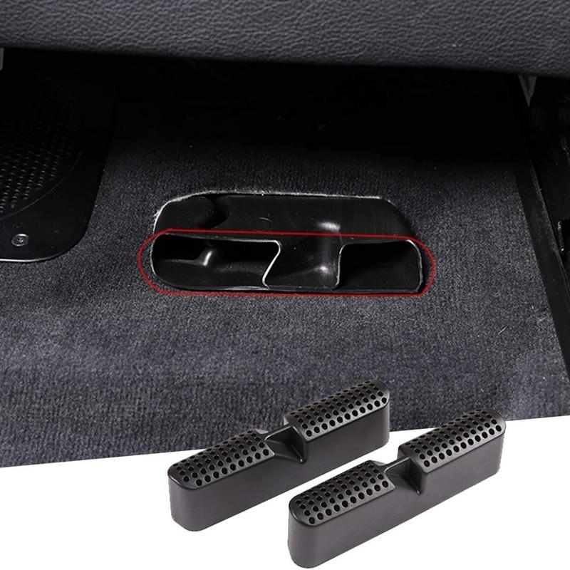 Cubierta embellecedora negra para salida de aire de asiento inferior para BMW X5 G05 2019 2020