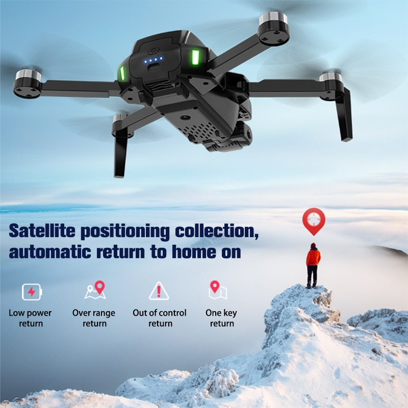 RC Dron S3 Pro Drone with Camera HD 4K GPS Professional 5G FPV Long Distance Brushless Foldable Quadcopter SG108 Drone PK L900 enlarge