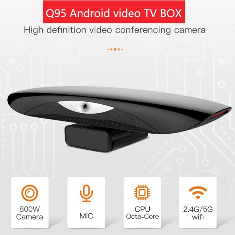 HD Video Conference Camera Android 9.0 1080P Web Camera For Smart Tv Video Conference With Network TV Set-top Box Network Player