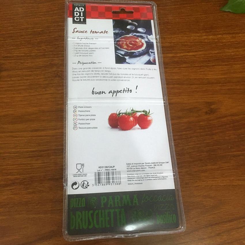 Купить с кэшбэком Pizza Scissors Cutter Stainless Steel Sharp Pizza Scissors with Detachable Spatula Multifunctional Kitchen Scissors