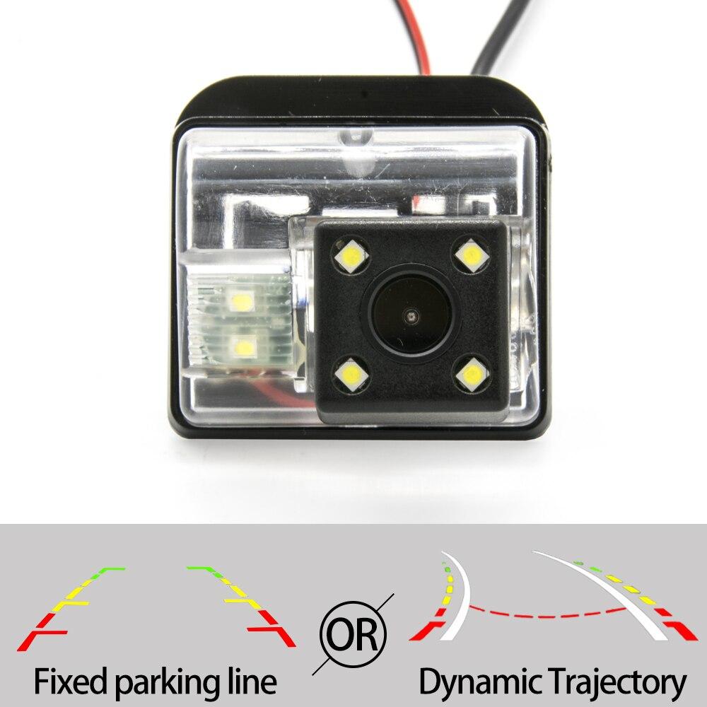 Cámara de Vista trasera de coche CCD de trayectoria fija o dinámica para Mazda 6 M6 CX-5 CX 5 CX5 CX-7 accesorios de aparcamiento inverso de coche