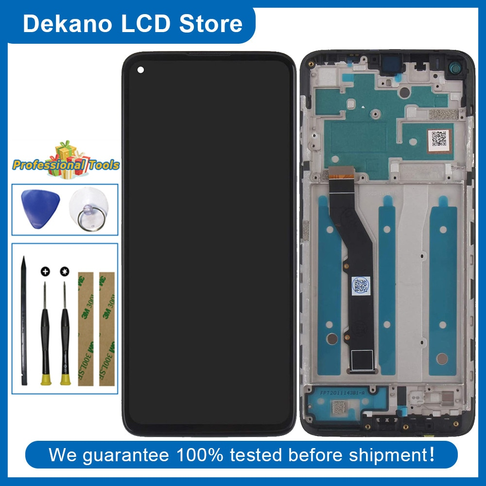 LCD شاشة عرض ل موتورولا موتو G9 زائد XT2087-1 XT2087-2 شاشة تعمل باللمس محول الأرقام الجمعية لوحة استبدال أجزاء