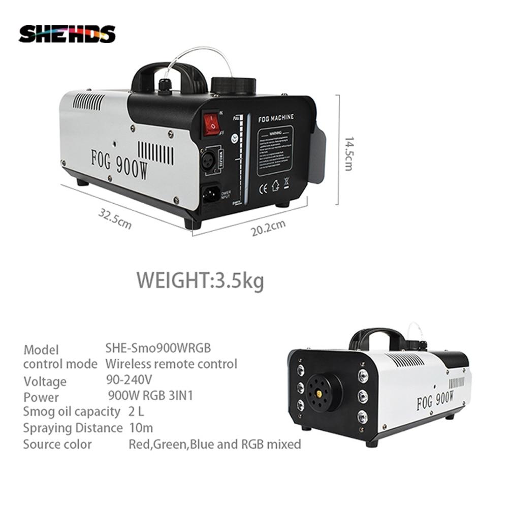 SHEHDS-آلة ضباب مدخنة DMX512 LED ، آلة ضباب عمودية ، جهاز تحكم عن بعد أو سلك ، مسرح ، 1500 واط