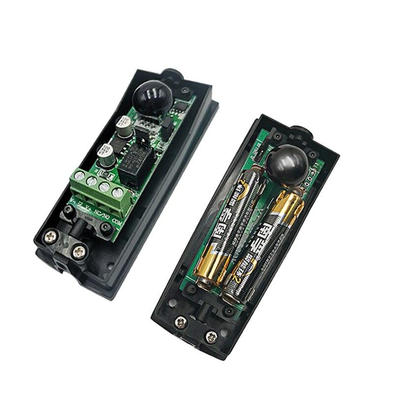 10Pcs  Gate opener Automated Gate Safe Infrared Detector Sensor/ Swing /Sliding/Garage Gate / Door Safety Infrared Photocell enlarge