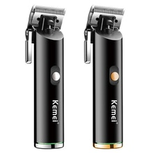 barber shop all metal hair clipper cord cordless hair trimmer professional rechargeable electric hai