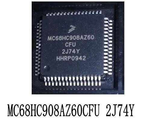 1 pçs/lote MC68HC908AZ60CFU 2J74Y QFP64