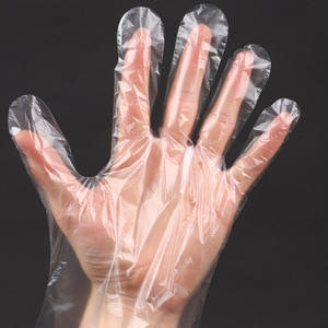 100PCS Disposable Food Plastic Gloves Kitchen Accessories or Restaurant BBQ Eco-friendly Fruit Vegetable Gloves Dinning Beauty