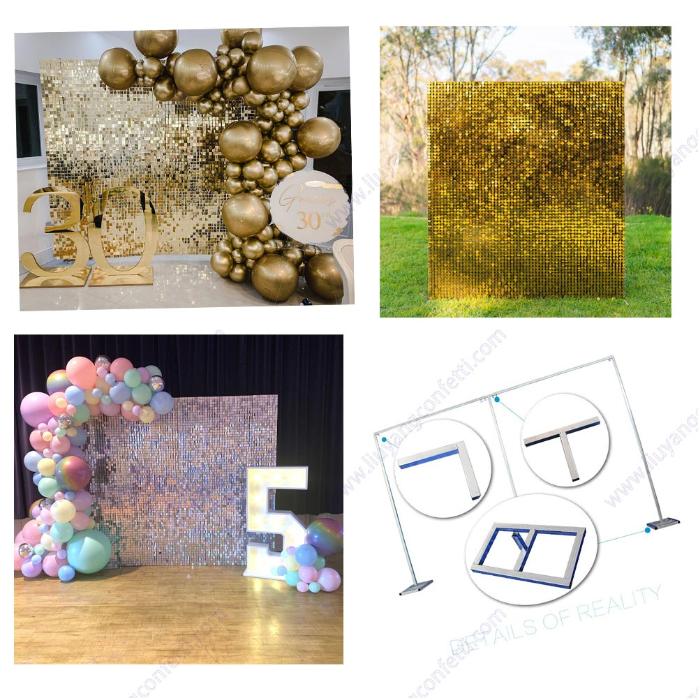 Backdrop Stand Frame Arch Photo Booth Pipe Drape Wedding Ceremony Photography Diy Adjustable Metal Kit Weighted Steel Base Heavy
