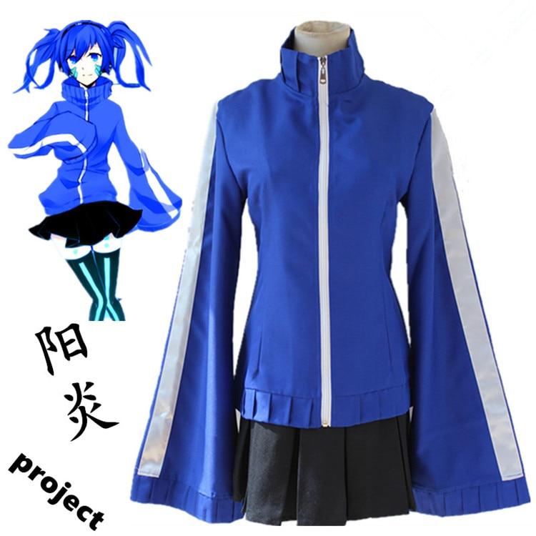 MekakuCity Actors Kagerou Project Enomoto Takane Ene Costumes Cosplay School Uniform Halloween Costumes ladys beautiful skirt