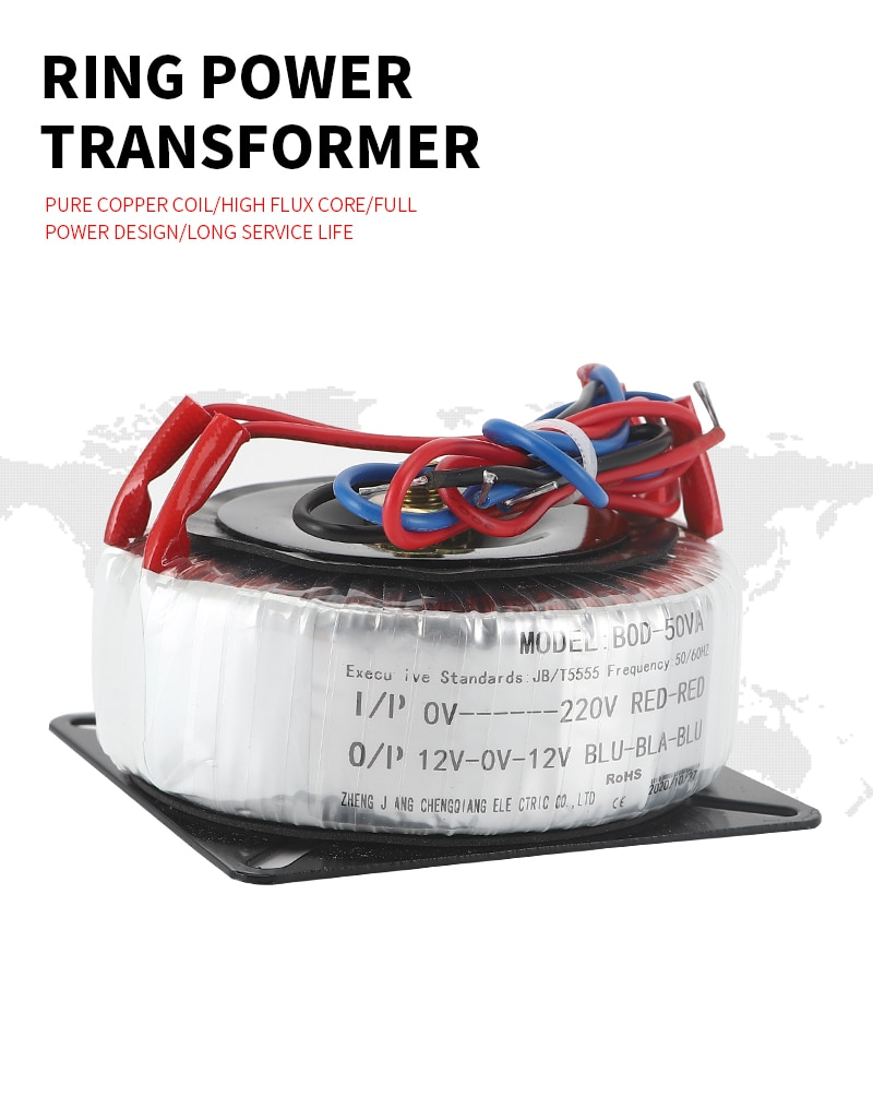 100w 4 2a Ring Transformer100va 220v 380v Input Dual 24v 12v 36v 48v 110custom Toroidal Transformer For Power Supply Amplifier Transformers Aliexpress