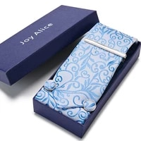fashion brand brand birthday gift tie hanky pocket squares cufflink set tie clip necktie box geometric formal clothing