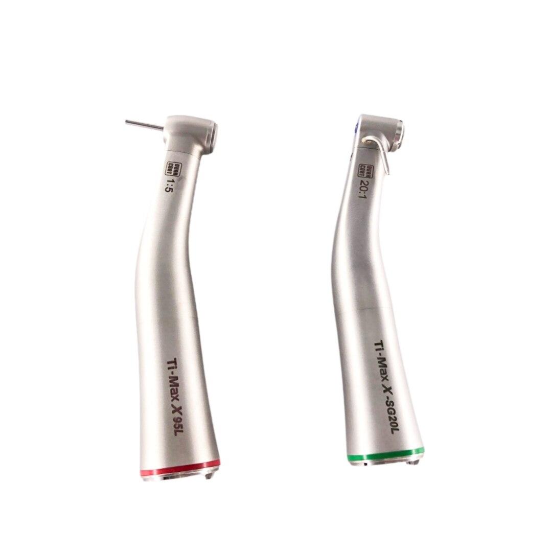 NSK نوع مصباح أسنان الألياف البصرية منخفضة السرعة قبضة 1:5/20:1 الأسنان قبضة تي ماكس X95L/X-SG20L