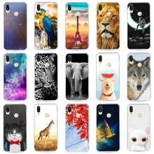 J&R Case For Huawei P20 Soft Silicone Cover For Huawei P20 Printing Protective Coque Funda
