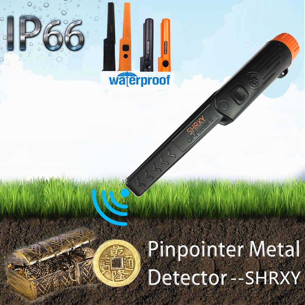 Pinpointing Metal Detector Pinpoint Waterproof Gold Digger for Garden Detecting 2021 new pointer metal detector pro pinpoint gp pointerii pinpointing gold digger garden detecting waterproof