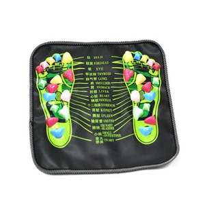 Foot Massager Mat Portable Foot Massage Cushion Acupoint Physical Therapy Massage Feet Cushion Foot Reflex For Pain Relief Stone