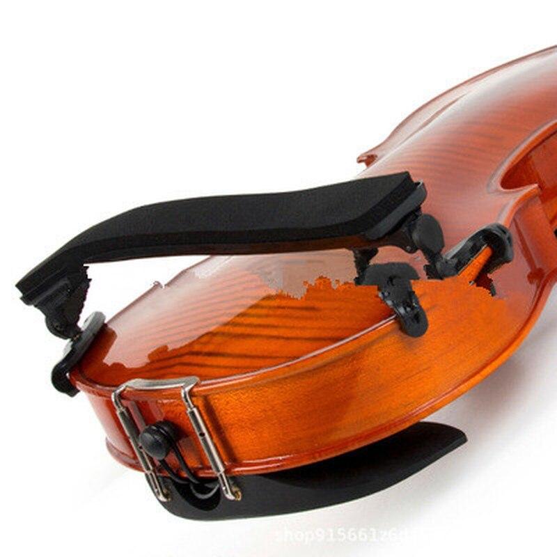 Adjustable Violin Shoulder Rest Plastic Padded For 1/21/4 4/4 3/4 1/8 Fiddle Violin Violin Parts & Accessories