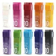 Inchiostro nero durevole della ricarica della penna di firma del centro 0.5mm della penna di colore di Kaco della penna di Youpin 5/10 pz/set KACOGREEN per le ricariche dell'ufficio scolastico/Kaco