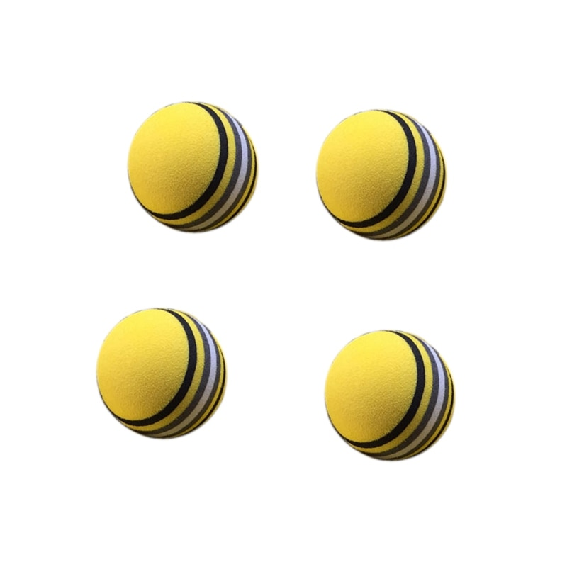 Nueva oferta 50 unids/bolsa Eva espuma producto de Golf esponja amarilla pelota de práctica de Golf interior