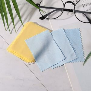 100 Pcs/Pack Glasses Cloth Lens Cleaner Dust Remover Portable Wipes Non-woven Fabric Phone Computer Screen Accessories A0KD