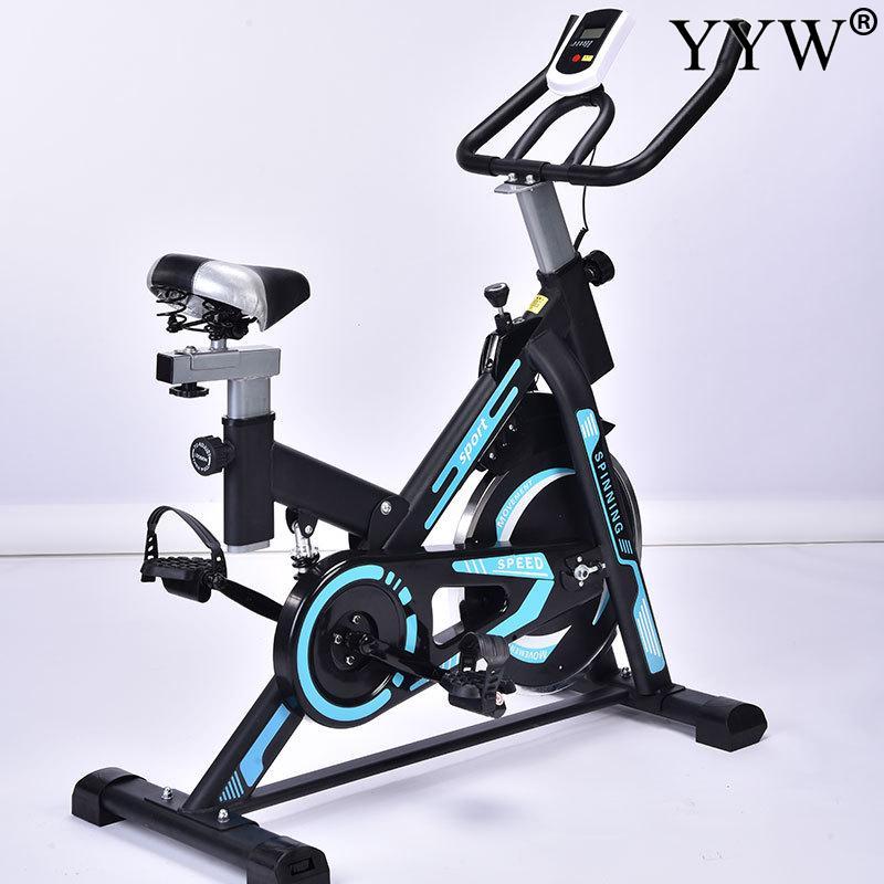 Monitor de bicicleta de ciclo de interior, Monitor de bicicleta estacionario, Cardio, gimnasio, máquina de ciclismo, entrenamiento, entrenamiento, máximo peso, rodamiento 120kg