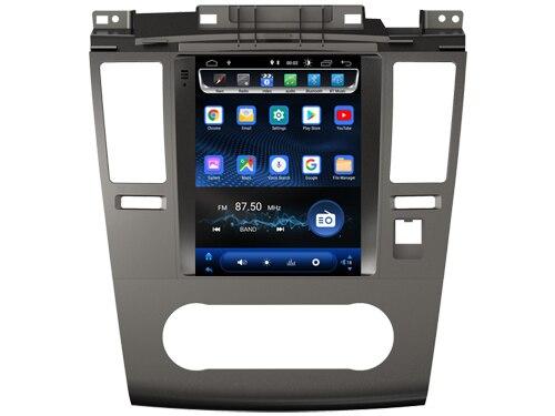 4GB ram 64GB rom Android pantalla vertical reproductor Multimedia para auto Nissan TIIDA 2008 2011 Radio bluetooth tesla navegación GPS